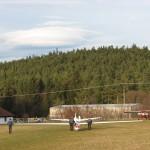 Wolke bei Leewelle