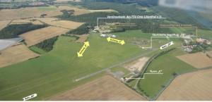 Übersicht Flugplatz